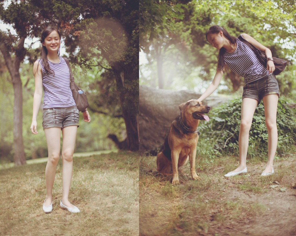 jane and dog