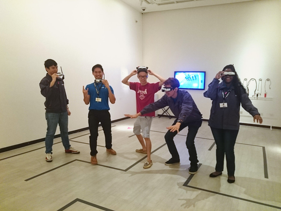 Gallery Sitters at Singapore Art Museum