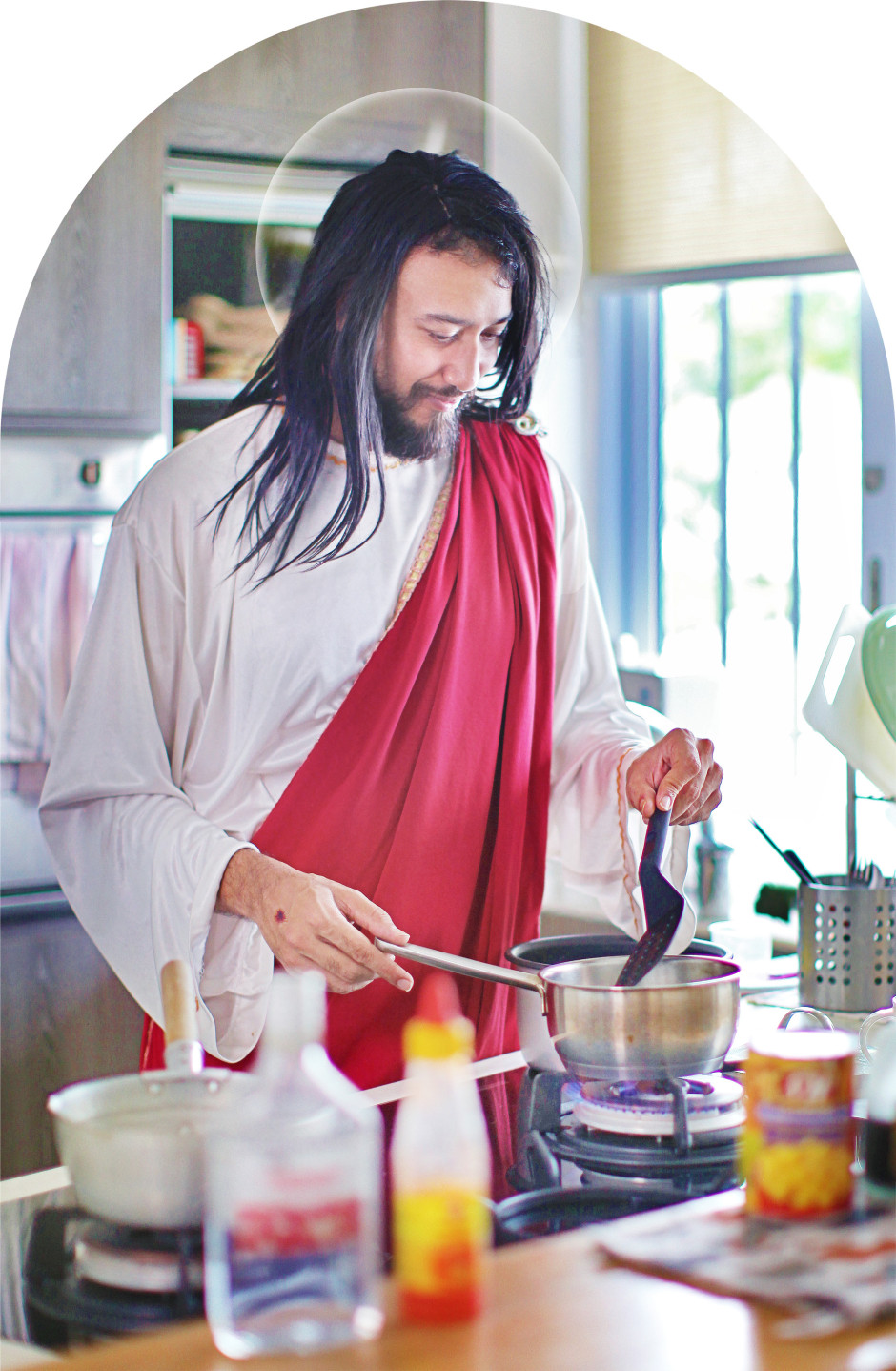What's Cooking Jesus? (2016) by Eugene Soh